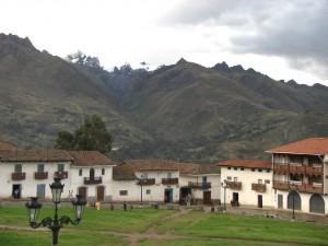 Dorfplatz von Chacas