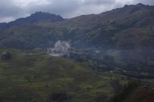 Chacas - eingebettet in den Bergen