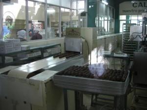 in der Schokoladenfabrik