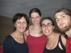 mit Anna Maria und Katja auf einer Duene