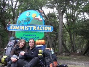 unser Basislager im Nationalpark :-)