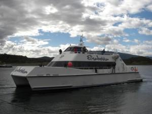 Unser Ausflugsboot Elisabetta