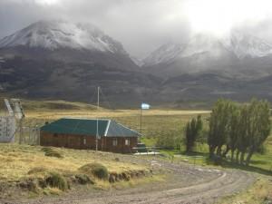 das argentinische Grenzhaeuschen