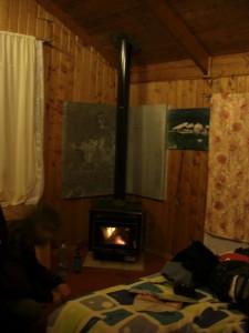 unser Zimmer in Tortel - Wahnsinn mit eigenem Kamin