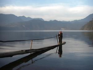wunderschoene Stimmung beim Lago Pellaifa