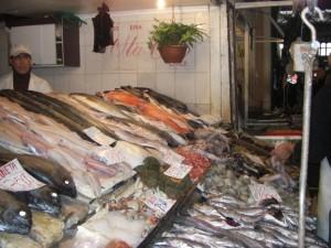 Fischmarkt in Santiago