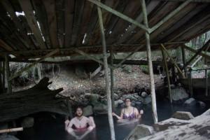 Entspannung pur im badewannenwarmen Wasser