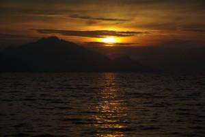 wieder Mal ein wunderschoener Sonnenuntergang in Chile