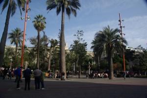 Treiben am Plaza Mayor