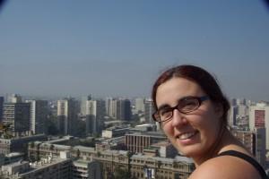 Blick vom Cerro Santa Luzia auf die Hochhaeuser im Zentrum