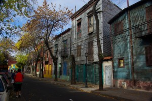 LA Boca - Bunte Wellblechhaeuser - Urspruenglich ein Armenviertel