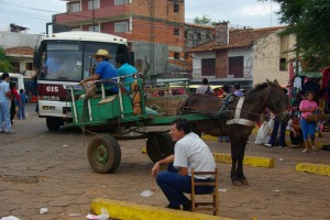 Busbahnhof in Villarica - super, oder ;-)?