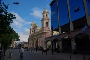 Kathedrale am Plaza 9 de Julio