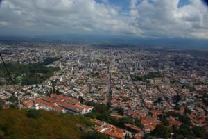 Salta vom Cerro San Bernardo aus gesehen