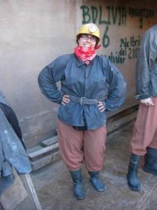 Wer sagt, dass Minenarbeiter nur Maenner sein koennen???