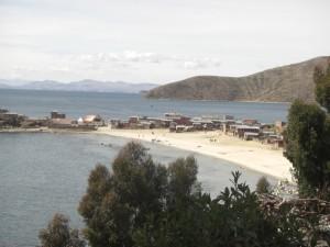 Der noerdliche Teil der Insel