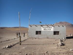 das bolivianische Grenzhaeuschen auf 4500m