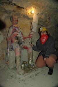El Diablo - der Herr der Unterwelt und damit der Minenarbeiter