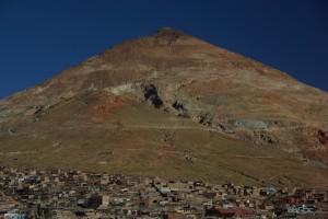 Cerro Rico - der Schweizerkaese ueber Potosi