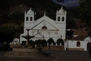 wunderschoene Kirche in Sucre
