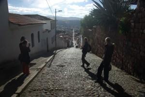 gepflasterte Strassen wie im alten Rom
