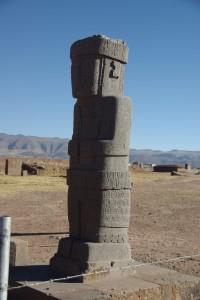 sehr beeindruckende Statue einer Aymaragottheit