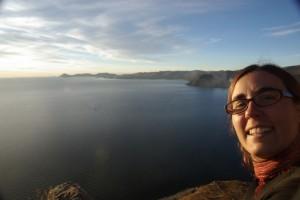die Kaerntnerin fuehlt sich an einem See wie zu Hause :-)