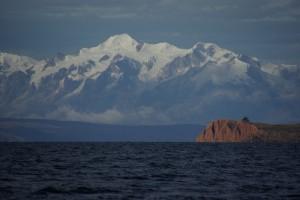 Da locken die Eisriesen der Anden - zum Angreifen nahe