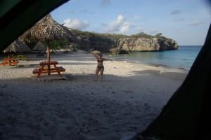1. Morgen auf unserer Beach im Paradies :-)