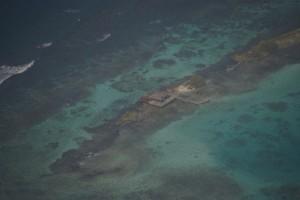 letztes Karibikbild von oben, wunderschoen ists :-)