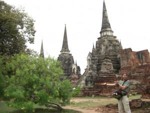 weiter gings zum Wat Phra Si Samphet mit seinen 3 grossen Chedis (=Stupas)