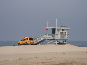 sieht doch wirklich so aus wie in Baywatch,oder? :-) (Venice Beach)