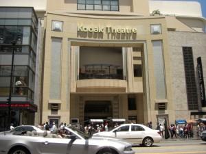 das Kodak Theater wirkt eher unscheinbar