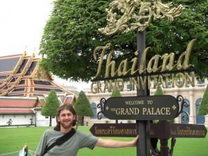 Besuch des Koenigspalastes und Wat Phra Keo