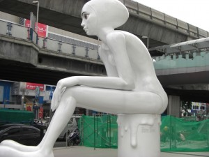 ...moderner Kunst...
