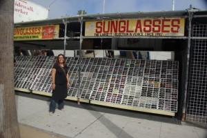 auch Lustiges zum Shoppen findet man an der Venice Beach, aber so viel Zeit haben wir leider nicht :-(