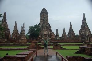 der Wat Chaiwatthanaram ist Weltkulturerebe