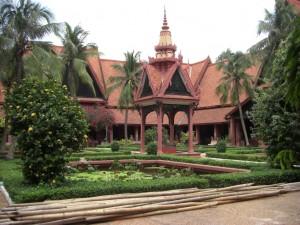 der Innenhof des Nationalmuseums