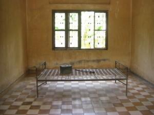 eine der ehemaligen Schulklassen bzw. Folterkammern