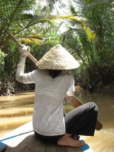 ... sicher gelenkt von unserer Vietnamesischen Steuerfrau