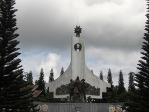 Nordvietnamesisches Denkmal fuer die Kommunikationsarmee (Kriegsgewinner)...