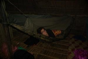 Rein ins Himmelbett - schlafen fast wie im 5 Sterne Hotel :-)