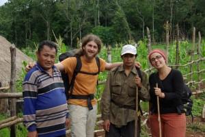 mit diesen beiden Kambodschanern verbrachten wir eine tolle abenteuerliche Zeit