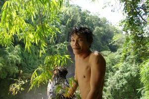 und unser netter kambodschanischer Begleiter