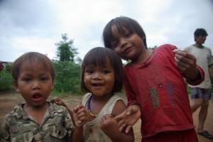 Beim Besuch eines Minderheitendorfes - in Vietnam gibt es 56 anerkannte Minderheiten...