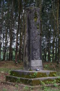 ...von den Suedvietnamesen errichtetes Denkmal fuer die toten Helden einer wichtigen Schlacht, das von den Nordvietnamesen zerschossen wurde und nun verfaellt.
