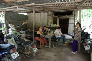 ...einer Ananas-Raststaette direkt neben einer Ananasplantage - die Ananas waren die Besten die wir je hatten...