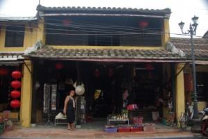Unsere Unterkunft, ein wunderschoenes, altes chinesisches Kaufmannshaus in Hoi An