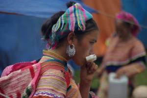 ...zur Feier des Tages goennt man sich gerne mal was Gutes - Eis in dem Fall fuer Frauen...