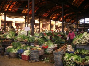 ...der Markt...